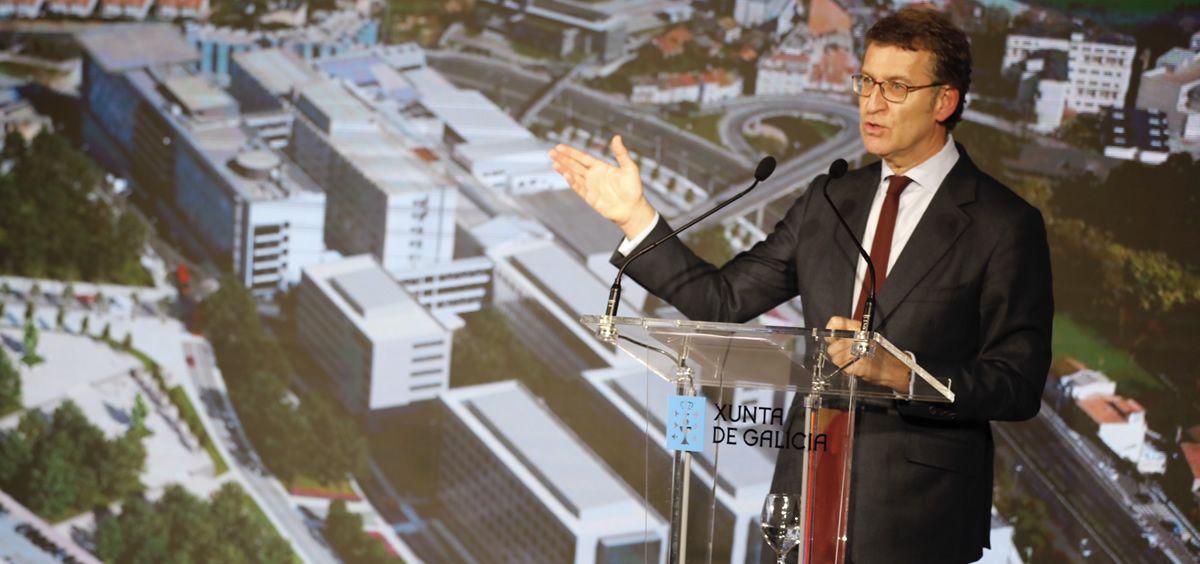 El presidente del Gobierno gallego, Alberto Núñez Feijóo (Foto. Xunta de Galicia)