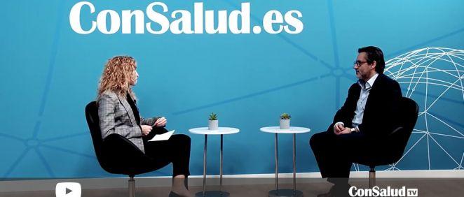 Entrevista al director del H.U. Clínico San Carlos (Foto. ConSalud.es)