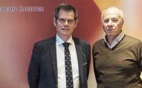 El doctor J. Antonio Castilla Alcalá y el doctor Luís Martínez, presidente de la SEF