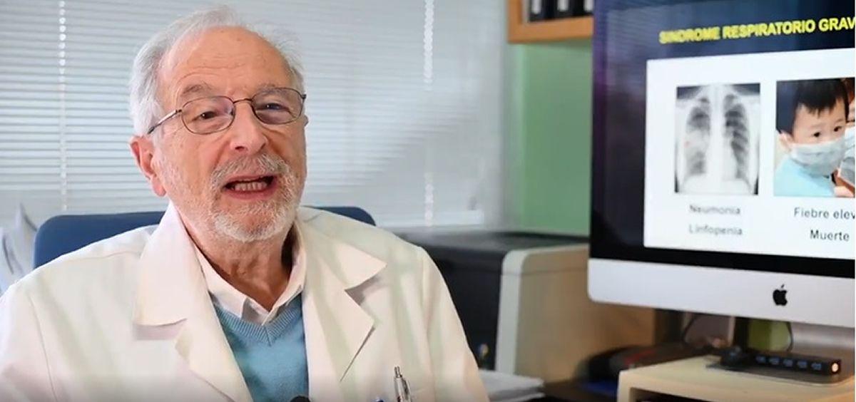 Luis Enjuanes, investigador del CSIC (Foto. CSIC)
