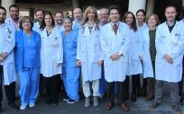 Profesionales de la Unidad de Enfermedades Infecciosas del Hospital General Universitario de Elche (Foto. Comunidad Valenciana)