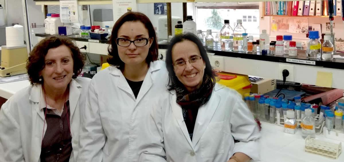 Investigadoras del estudio sobre la inactivación de la proteína PASK (Foto. ConSalud)