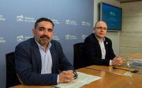 Ricardo Velasco y Alberto Lafuente (Foto. Gobierno de La Rioja)