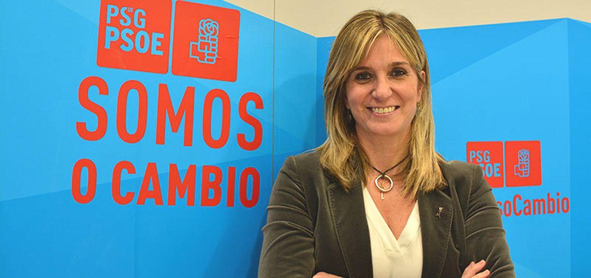 Ana Prieto, portavoz de Sanidad del PSOE en el Congreso (Foto: PSdeG)
