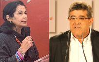 Esther Carmona y Modesto PSOE, portavoz de Sanidad del PSOE en el Senado y presidente de la Comisión (Foto: ConSalud.es)