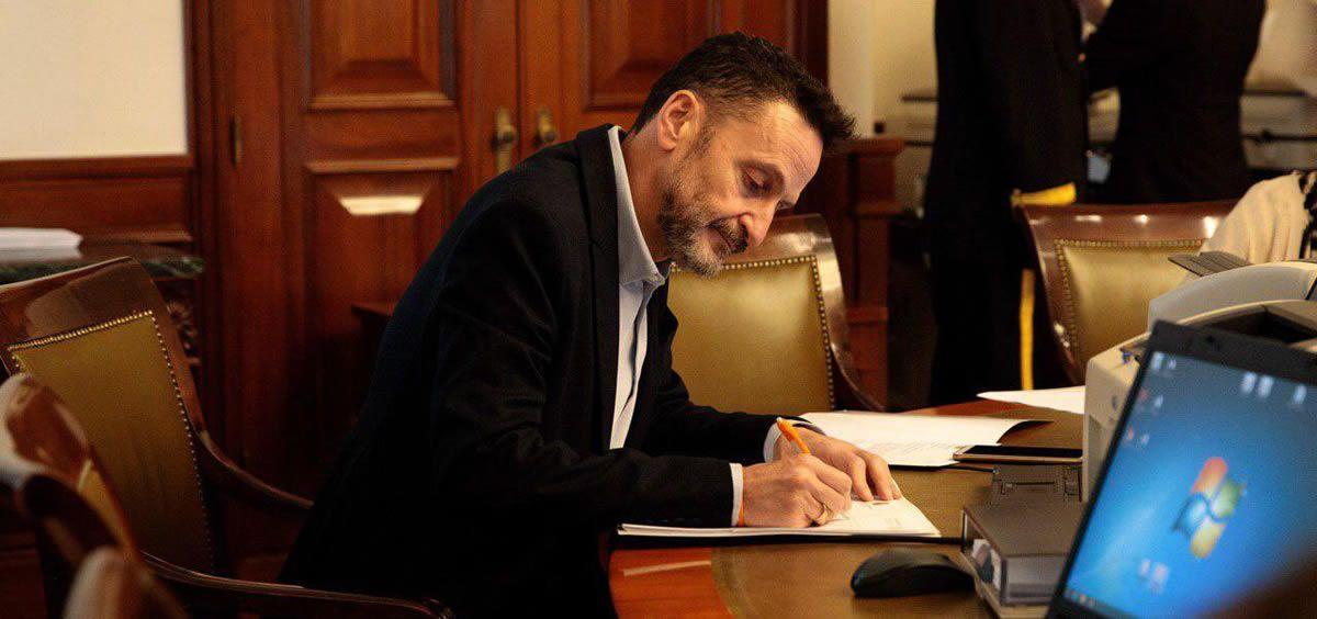 El portavoz adjunto del Grupo Parlamentario Ciudadanos en el Congreso de los Diputados, Edmundo Bal (Foto: @BalEdmundo)