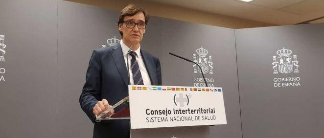 El ministro de Sanidad, Salvador Illa. (Foto: ConSalud.es)