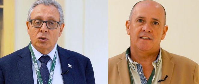Tomás Toranzo y Gabriel Del Pozo, presidente y secretario general de CESM. (Foto. CESM)