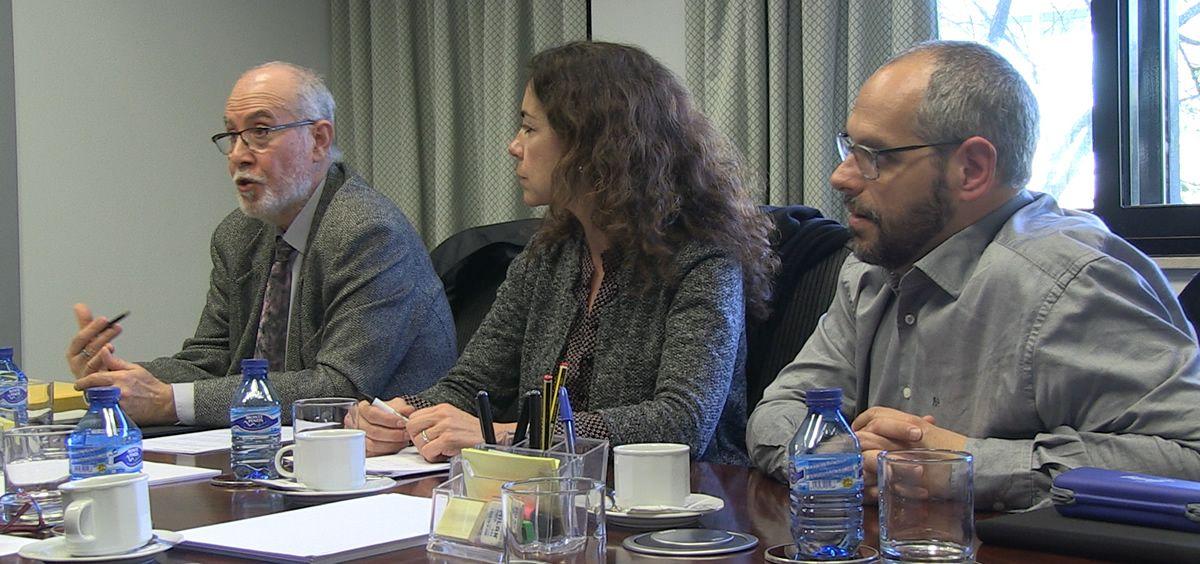Reunión entre el Consejo General de Enfermería y la Sociedad Española de Enfermería Radiológica (Foto: CGE)
