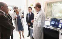 Visita del presidente de Aragón y la consejera de Sanidad al Hospital San Jorge (Foto. Gobierno de Aragón)