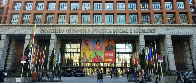 Exterior del Ministerio de Sanidad (Foto: ConSalud.es)