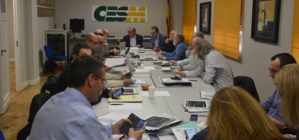 Comité Ejecutivo de CESM. (Foto. CESM)