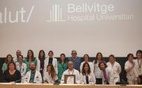 Profesionales de la Unidad de Enfermedad Inflamatoria del Hospital de Bellvitge (Foto. ConSalud)