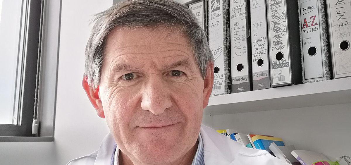 Luis Bujanda, presidente de la Asociación Española de Gastroenterología (AEG).