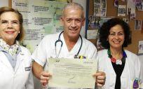 Profesionales del Complejo Hospitalario Universitario de Canarias (Foto. Gobierno de Canarias)