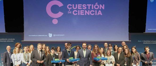 Gala ''Cuestión de ciencia'' (Foto. ConSalud)