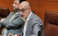 El portavoz parlamentario de Ciudadanos Cantabria, Félix Álvarez (Foto: @CsCantabria)