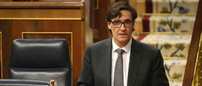 El ministro de Sanidad, Salvador Illa (Foto: Congreso de los Diputados)