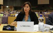 Ana Miranda, portavoz del BNG en Europa. (Foto. BNG)