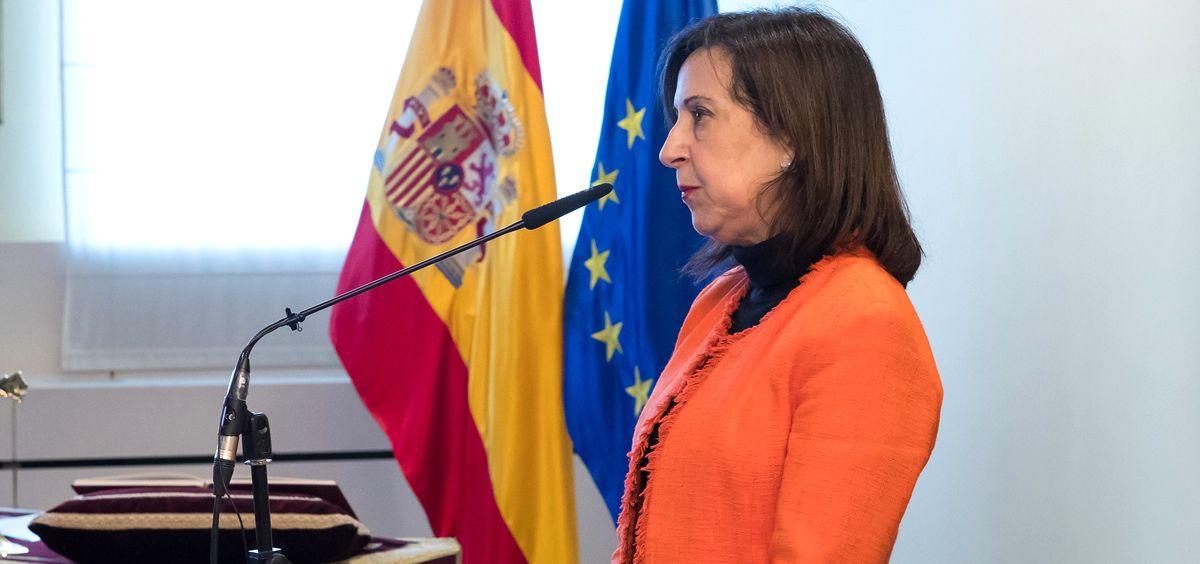 Margarita Robles, ministra de Defensa (Foto: Ministerio de Defensa)