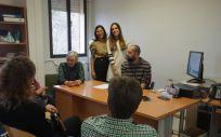Reunión del taller de intervención grupal de pacientes con psoriasis (Foto. Castilla La Mancha)