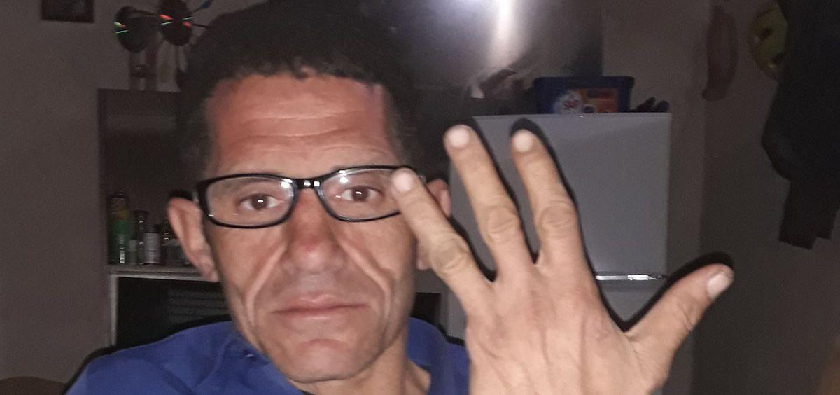 El preso Honorio Gómez Alfaro (Foto: APDHA)