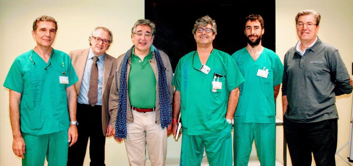 Radiólogos intervencionistas, neurólogos y médicos intensivistas de Canarias (Foto. Gobierno de Canarias)