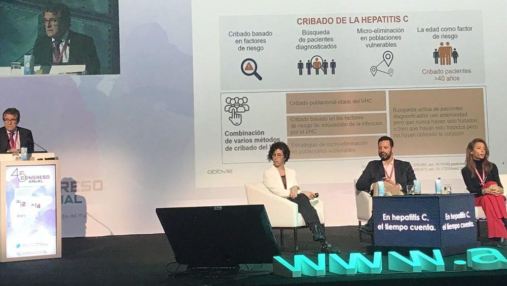 45º Congreso de la Asociación Española para el Estudio del Hígado (AEEH) (Foto. AbbVie)