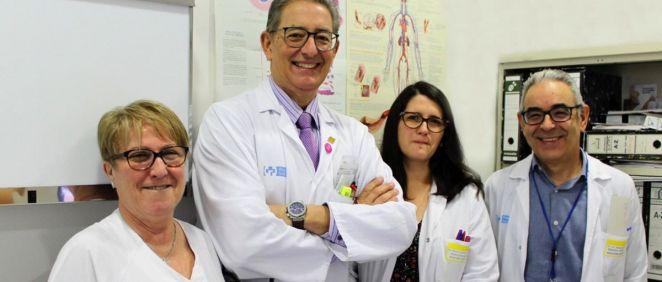 Profesionales del Hospital San Pedro de La Rioja (Foto. Gobierno de La Rioja)