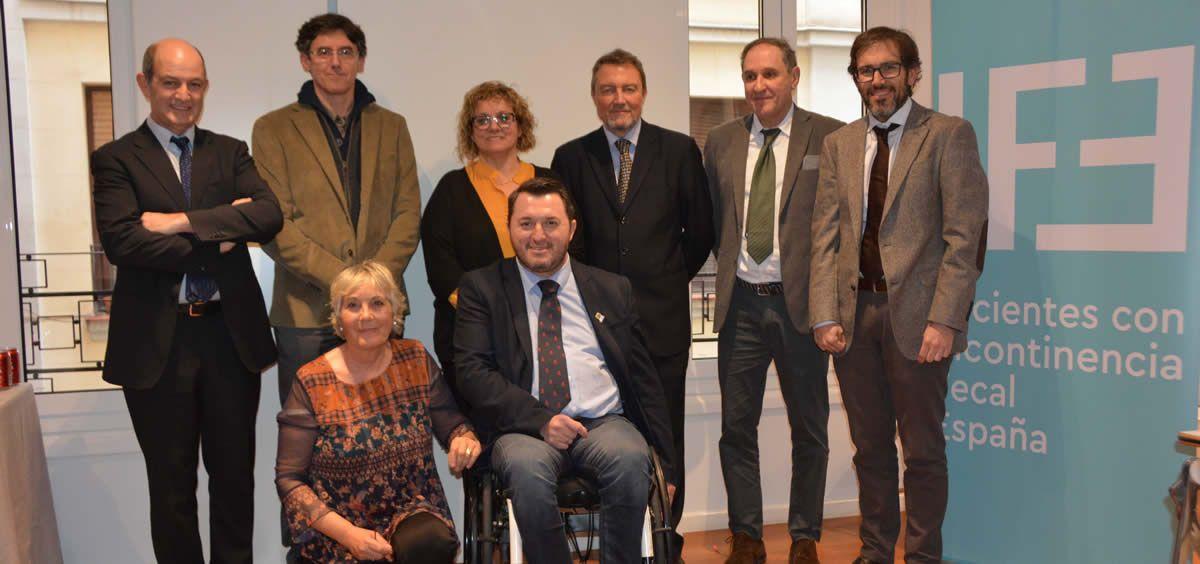 Representantes del Grupo IFE (Foto: Consejo General de Enfermería)