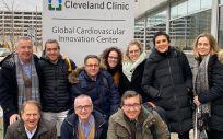 Delegación española que ha viajado a Estados Unidos como parte de este proyecto (Foto. ISCIII)