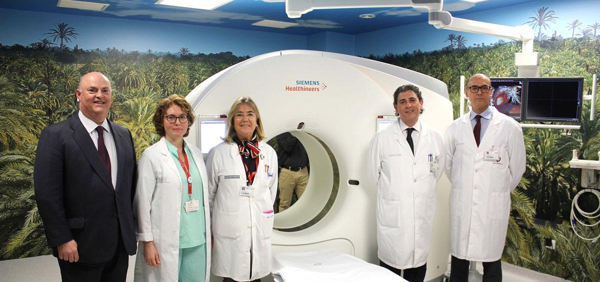 Inauguración del TAC del Hospital de Vinalopó (Foto. ConSalud)