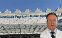 Julio García, Director Gerente en funciones del Hospital Puerta de Hierro (Foto. Fotomontaje ConSalud.es)