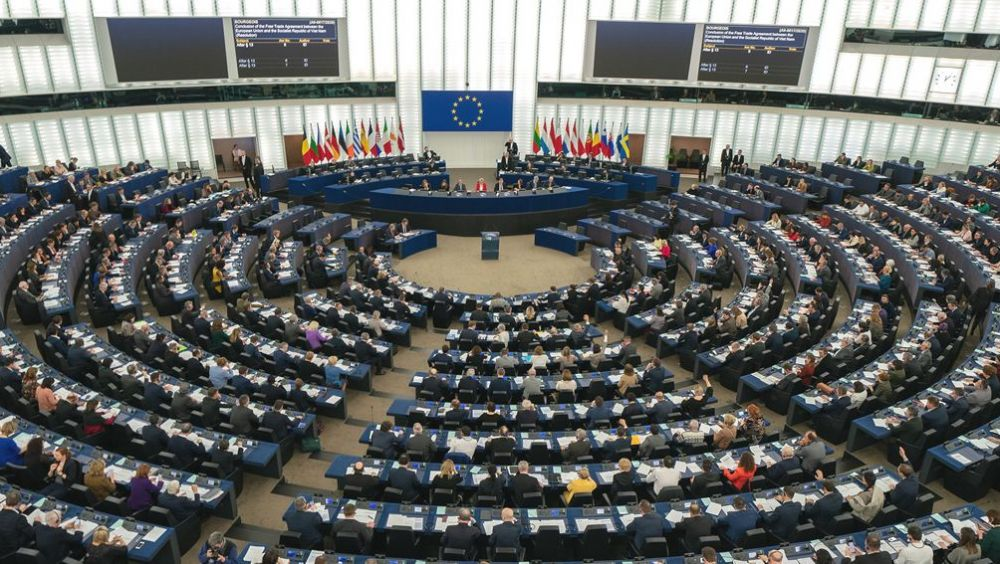 Pleno del Parlamento Europeo (Foto: Flickr UE)