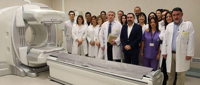 Profesionales de la Unidad de Medicina Nuclear (Foto. Gobierno de la Rioja)