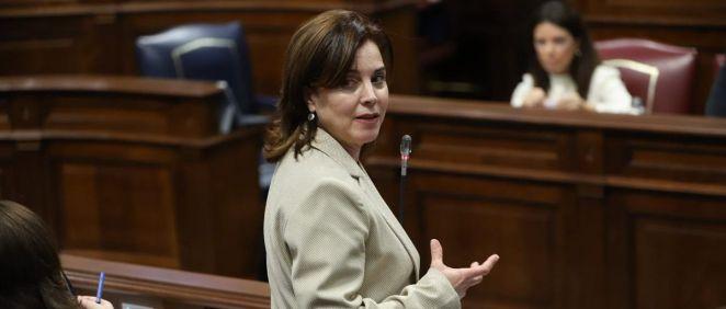 Teresa Cruz Oval, consejera de Sanidad del Gobierno de Canarias (Foto. Gobierno de Canarias)