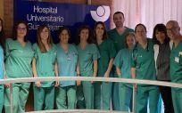 Profesionales del Hospital de Guadalajara (Foto. Castilla La Mancha)