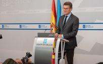 El presidente de la Xunta de Galicia, Alberto Núñez Feijóo. (Foto. Xunta)
