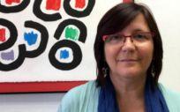 La responsable de Mujeres y Políticas LGTBIQ de FSS CCOO, Silvia Espinosa López. (Foto. CCOO)