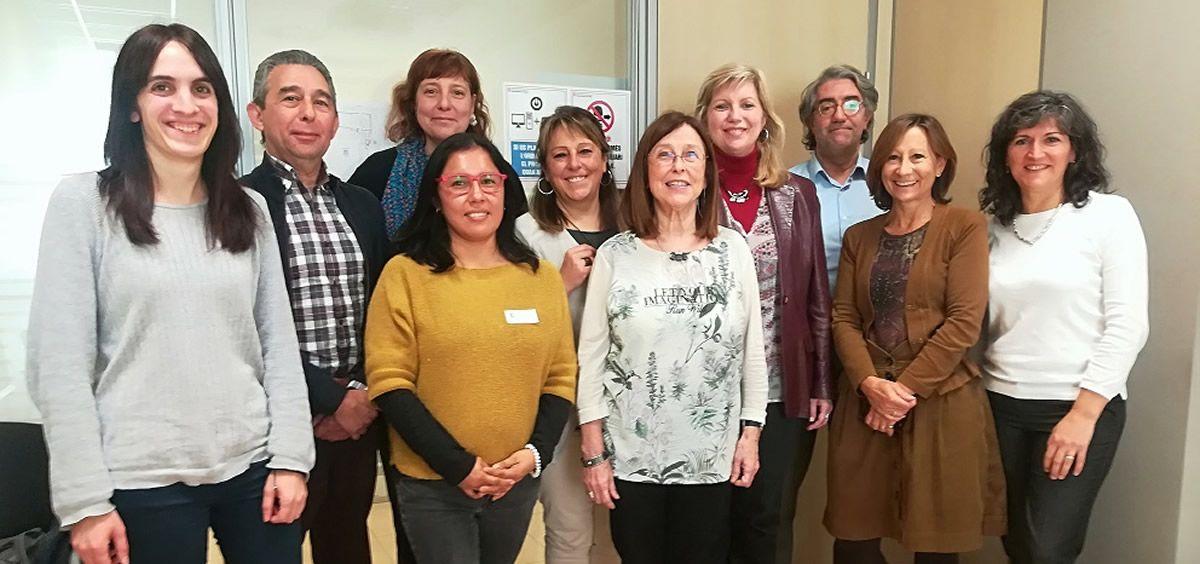 Grupo de expertos que han participado en el análisis de la vigilancia de la gripe (Foto. ConSalud)
