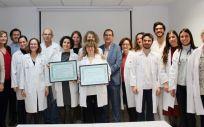 Certificación al Hospital Doctor Peset (Foto. ConSalud)