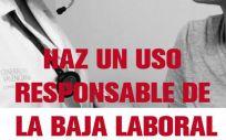La campaña impulsada por la Generalitat Valenciana (Foto: CCOO)