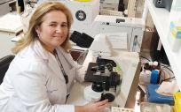 Cristina Regojo, presidenta de la Asociación Española contra la Meningitis (Foto. Marta G. Brea)