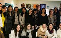 Asistentes al curso de formación Proyecto Camina (Foto.MSD)