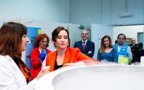 Isabel Díaz Ayuso ha visitado el Banco de Tejidos de la Comunidad de Madrid. (Foto. Comunidad de Madrid)