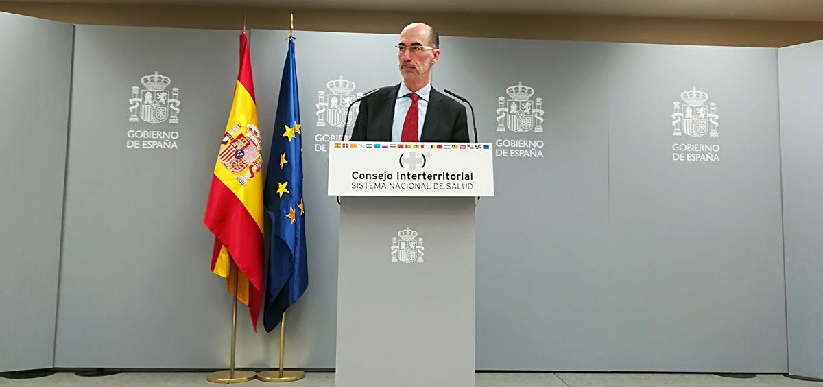 El consejero de Sanidad de la Xunta de Galicia, Jesús Vázquez Almuiña (Foto: Juanjo Carrillo Córdoba - ConSalud.es)