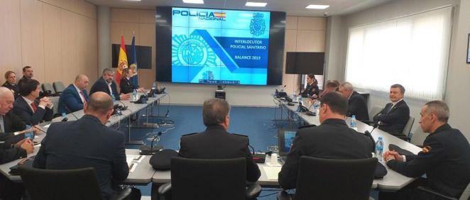 La Policía Nacional hace balance de su actividad para prevenir las agresiones a sanitarios (Foto: Policía Nacional)