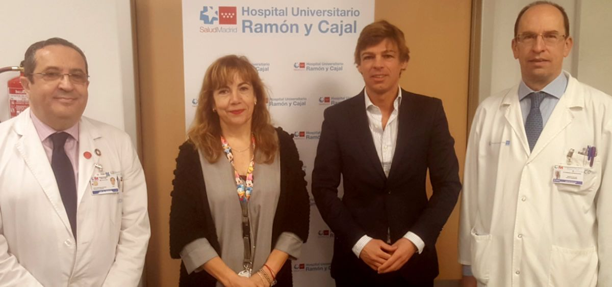 Profesionales que han participado en las V Jornadas del Ramón y Cajal (Foto. Hopital Ramón y Cajal)