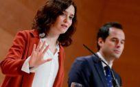 La presidenta de la Comunidad de  Madrid, Isabel Ayuso (Foto. Comunidad de Madrid)