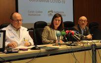 Presentación de las medidas y últimas noticias sobre el coronavirus en La Rioja (Foto. Gobierno de la Rioja)